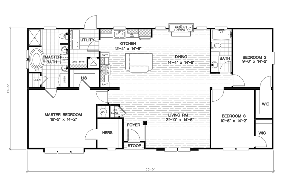 The 2455 CLASSIC Floor Plan